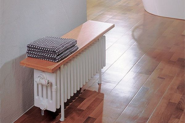 Дизайн радиатор Zehnder Bank-Radiator B5120/5